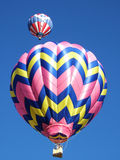 Zwei Heißluftballone Lizenzfreie Stockfotos