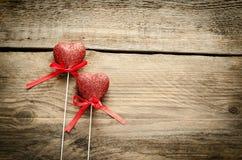 Zwei Herzen Stockfoto