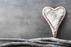 Zwei Innere Valentine Day-Grußkarten Stockbild