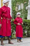 Zwei Janissaries lizenzfreie stockfotos
