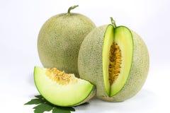 Zwei Japans Melone Stockbild
