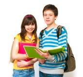 Zwei Jugendliche Lizenzfreie Stockbilder