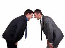 Zwei junge Geschäftsmänner Lizenzfreie Stockfotos