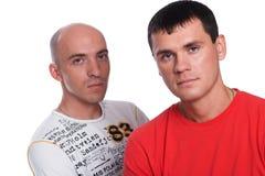 Zwei junge Männer Lizenzfreie Stockbilder