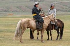 Zwei junge Reiter Lizenzfreie Stockbilder
