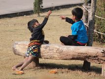 Zwei Jungen Lizenzfreies Stockbild
