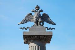 Zwei-köpfiger Adler, russisches Wappen Lizenzfreies Stockbild