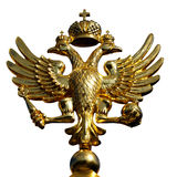 Zwei-köpfiges Adlersymbol von Russland Stockfotos