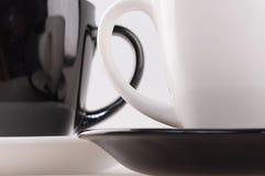 Zwei Kaffeetasse stockfotos