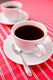 Zwei Kaffeetassen Stockfotografie