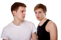 Zwei Kerle lizenzfreies stockfoto