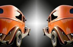 Zwei klassische Autos Stockbilder