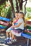 Zwei kleine Freunde Lizenzfreie Stockbilder