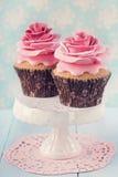 Zwei kleine Kuchen lizenzfreie stockfotografie