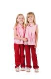 Zwei kleine Mädchen stockbilder