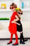 Zwei kleine Modehändler Lizenzfreies Stockfoto