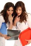 Zwei Krankenschwestern Lizenzfreies Stockbild