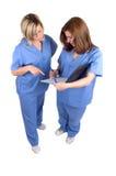 Zwei Krankenschwestern lizenzfreie stockfotografie