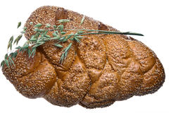 Zwei lange Laibe Brot Lizenzfreie Stockbilder