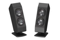 Zwei Lautsprecher vektor abbildung
