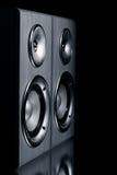 Zwei Lautsprechersysteme Lizenzfreie Stockfotografie