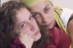 Zwei Mädchen Lizenzfreies Stockfoto