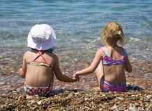 Zwei Mädchen Lizenzfreie Stockfotos