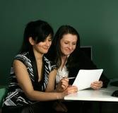 Zwei Mädchen Lizenzfreie Stockbilder