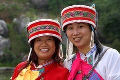 Zwei Mädchen in China Stockfotos