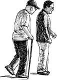 Zwei Männer Lizenzfreie Stockfotografie