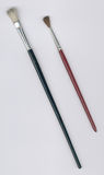 Zwei Malerpinsel Stockbild