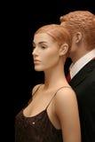 Zwei Mannequine Stockfotos