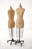 Zwei Mannequine Lizenzfreie Stockbilder