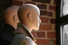 Zwei Mannequine Stockbild