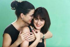 Zwei Mädchen Stockfotografie