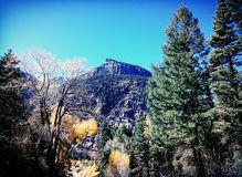Zwei-Meilen-Hochgebirge Stockfotografie