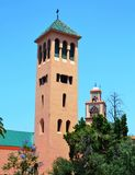 Zwei Minaretts lizenzfreies stockbild