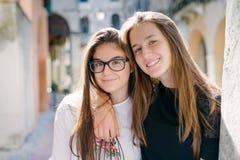 Zwei Mitschüler Lizenzfreie Stockfotos