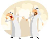Zwei moslemische Männer Stockfoto