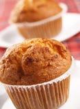 Zwei Muffins Stockbild