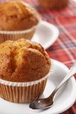 Zwei Muffins Lizenzfreies Stockbild