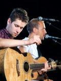 Zwei Musiker lizenzfreies stockbild