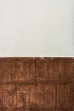 Zwei Muster und Beschaffenheit der Betonmauer Lizenzfreie Stockfotos