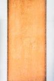 Zwei Muster und Beschaffenheit der Betonmauer Stockbild
