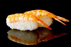 Zwei nigiri Sushi Lizenzfreie Stockfotografie