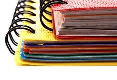 Zwei Notizbücher lizenzfreie stockfotos