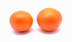 Zwei Orangen Stockfoto