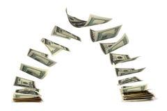 Zwei Pakete der Dollar Stockfoto