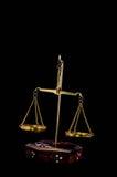 Zwei Pan Balance Lizenzfreies Stockbild