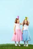 Zwei Prinzessinnen Stockfotografie